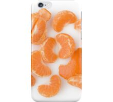 Peeled Tangerine as Healthy and Nutritious Fruit iPhone Case/Skin