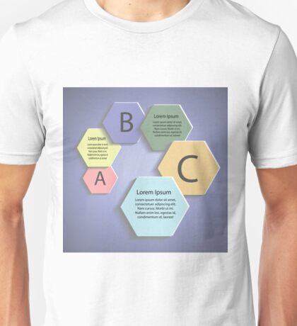 abstract business template Unisex T-Shirt
