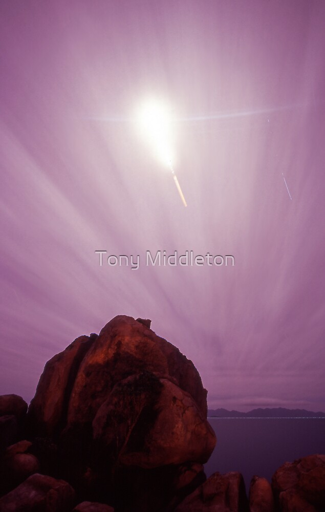 eclipsing through time... by Tony Middleton