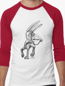 Donkey Bird Men's Baseball ¾ T-Shirt