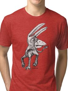 Donkey Bird Tri-blend T-Shirt