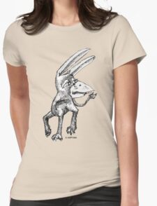 Donkey Bird Womens Fitted T-Shirt