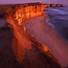 cliffs edge by Tony Middleton
