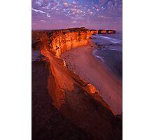 cliffs edge Photographic Print