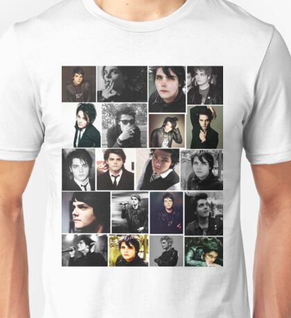 Gerard Way Collage Unisex T-Shirt