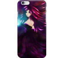 Girl with magic ball iPhone Case/Skin