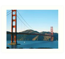 Golden Gate Bridge Art Art Print