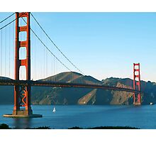 Golden Gate Bridge Art Photographic Print