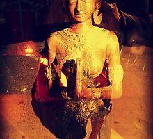 Buddha by luckamantra