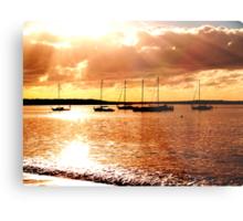 sailing the morning  Metal Print