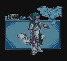 Tyrande - I owl you Kids Clothes