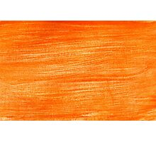 Orange Paint Background 4 Photographic Print