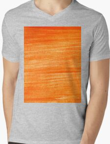 Orange Paint Background 4 Mens V-Neck T-Shirt