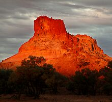 Goyder's Pillar, North Simpson Desert by Joe Mortelliti