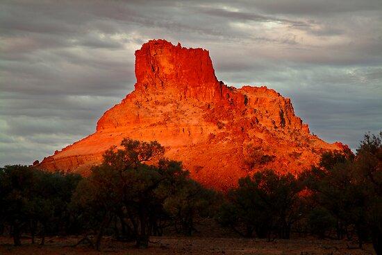 Goyder's Pillar, North Simpson Desert by Joe Mortelliti