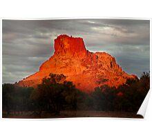 Goyder's Pillar, North Simpson Desert Poster