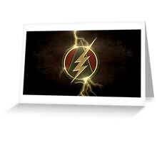 Arrow and The Flash Greeting Card