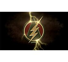 Arrow and The Flash Photographic Print