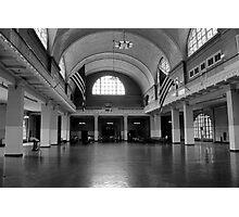 Ellis Island Photographic Print