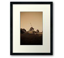 Uncommon Valor Framed Print