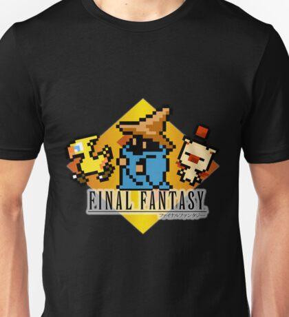 Final Fantasy bits Unisex T-Shirt