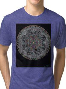 Fractal Enlightenment Tri-blend T-Shirt