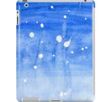 Painted Blue Texture 2 iPad Case/Skin