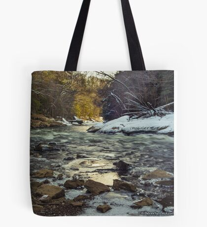 The Water at McConnell's Mill (Mid November 2014) Tote Bag
