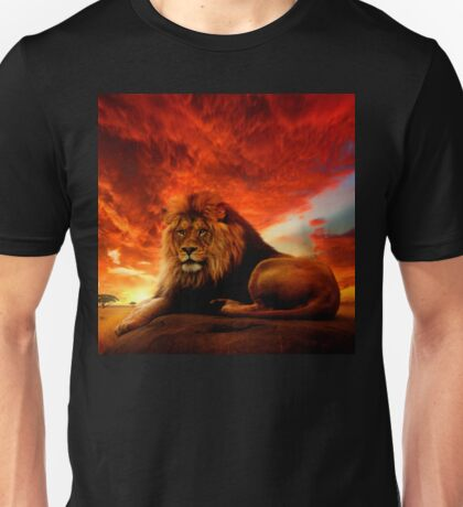 Lion Serengeti  Unisex T-Shirt