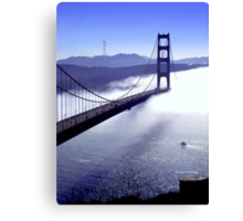 Its The Golden Gate Bridge! Canvas Print