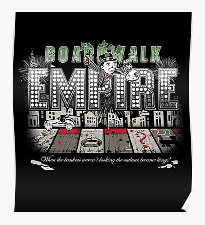 Boardwalk Monopoly Poster