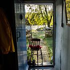 The morning is waiting, through the open door. by SADHYA
