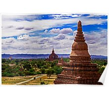 Bagan by Day. Poster