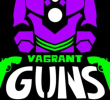 Vagrant Guns the T-Shirt Sticker