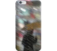 Horizontal Rain San Francisco iPhone Case/Skin
