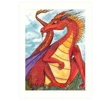 Sir Dragon Art Print