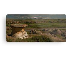Milk River Stonescape Metal Print