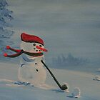 Frosty on his day off by William  Boyer
