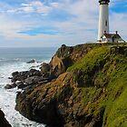 Pigeon Point Lighthouse by Jenn Ramirez