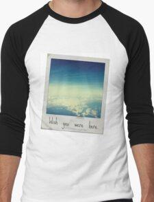Wish you were here. Men's Baseball ¾ T-Shirt
