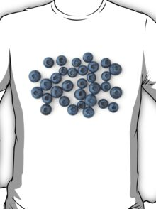 Blueberries as a Healthy and Nutritious Fruit T-Shirt