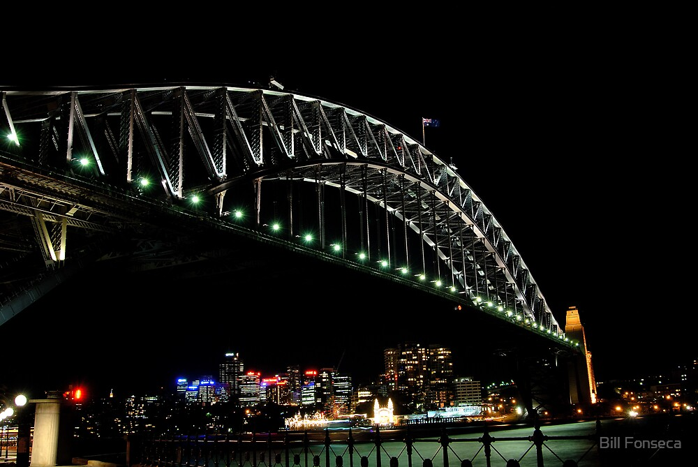 Sydney Harbour Bridge (The Coat Hanger) by Bill Fonseca
