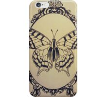 Framed Butterfly iPhone Case/Skin