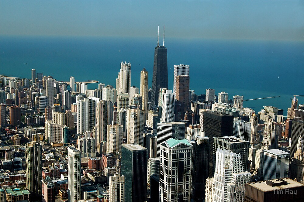 Chicago by Day by Tim Ray