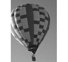 Antique Hot Air Balloon Photographic Print