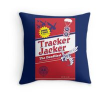 Tracker Jacker Throw Pillow