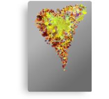 autumn heart Canvas Print