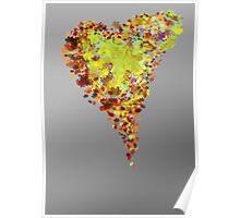 autumn heart Poster