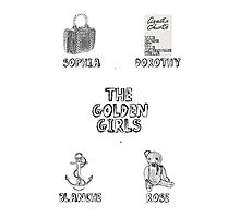 Golden Girls Photographic Print