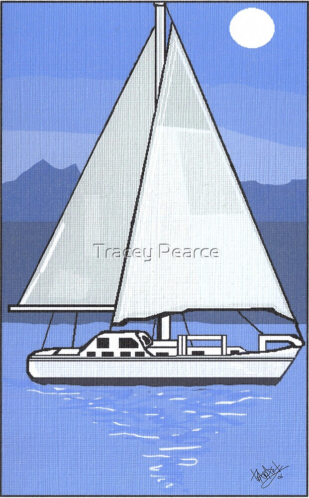 Sailing Free by Tracey Pearce